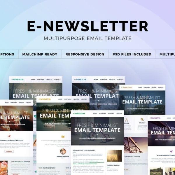 E-Newsletter - Multipurpose Email Template