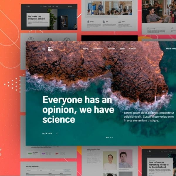 E—tan - Digital Consulting Agency HTML Template
