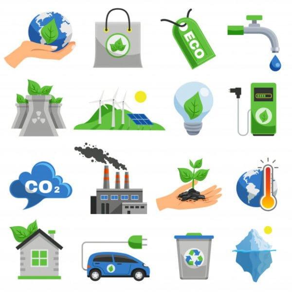 Ecology icon set (Turbo Premium Space)