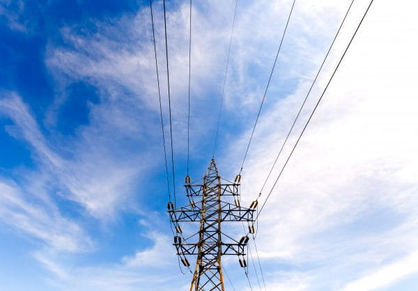Electrical high voltage tower