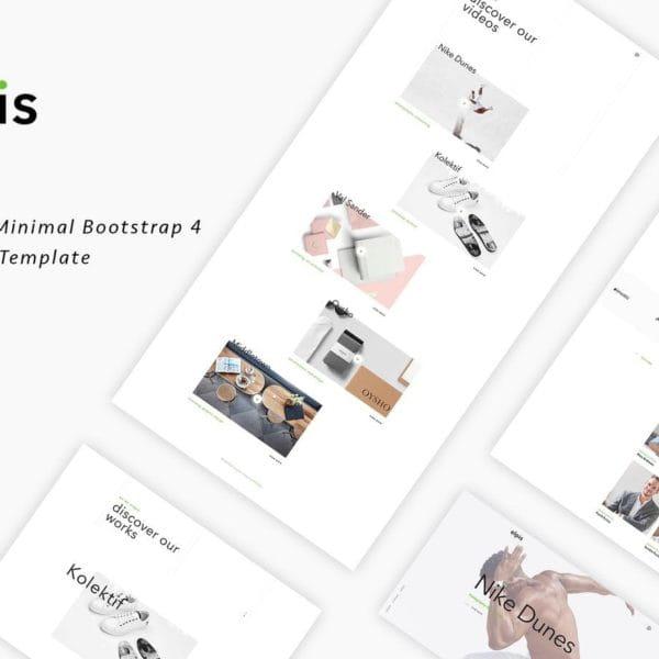 Elpis - Creative Minimal Portfolio Template