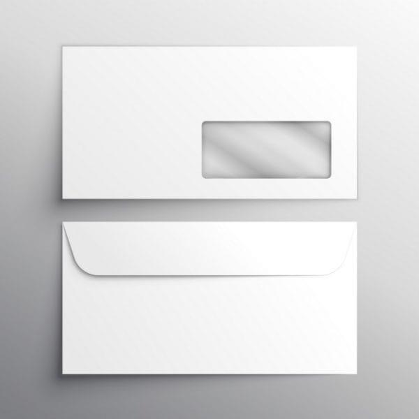 Envelope, mockup (Turbo Premium Space)