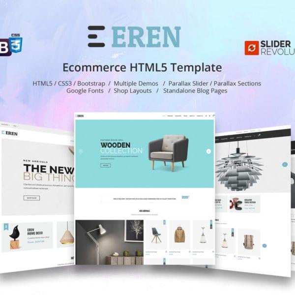 Eren - Multipurpose Ecommerce Template