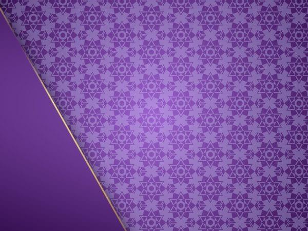 European Pattern Purple Background With Luxury Frame (Turbo Premium Space)