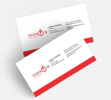 Fashion Business Card Template (Turbo Premium Space)