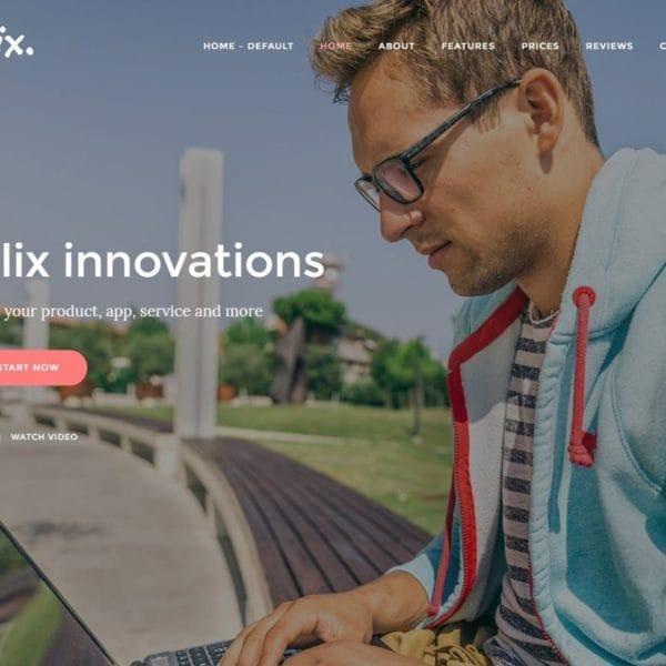 Felix. - App, Mobile, Product Landing Page