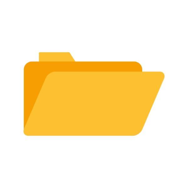 Folder Icon Creative Design Template (Turbo Premium Space)