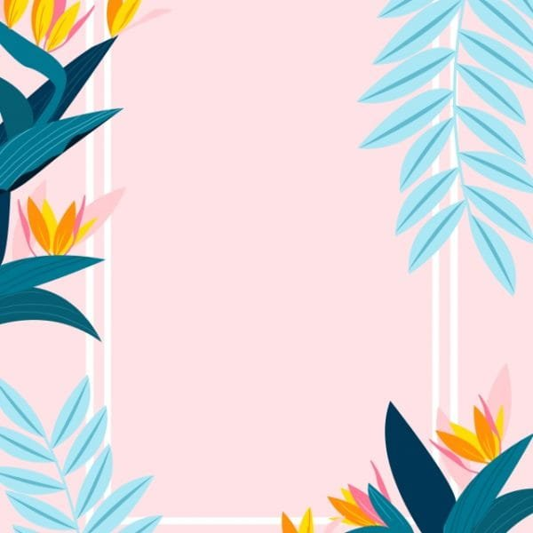 Fresh Summer Womens Promotional Poster Background