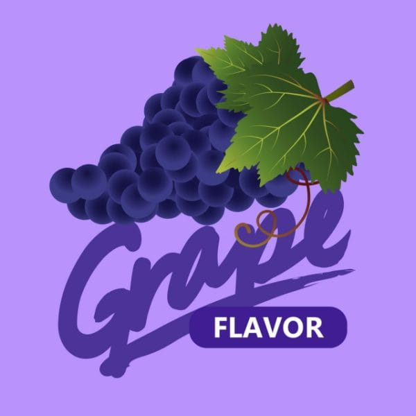 Fruit Illustration With Grape