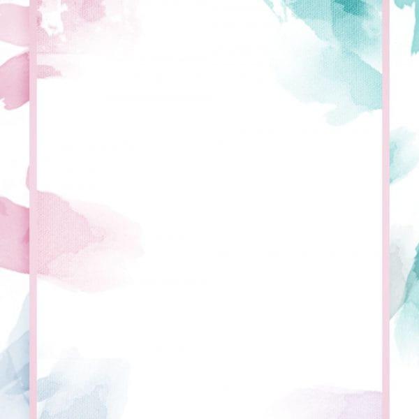Full Irregular Watercolor Splash Ink Light Color Background
