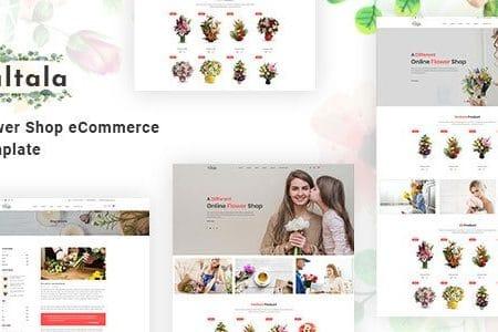Fultala – Flower Shop eCommerce Template