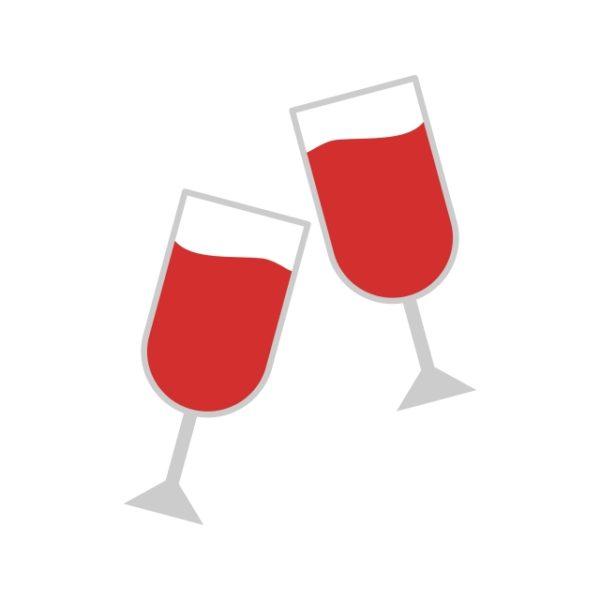 Glasses Icon Creative Design Template