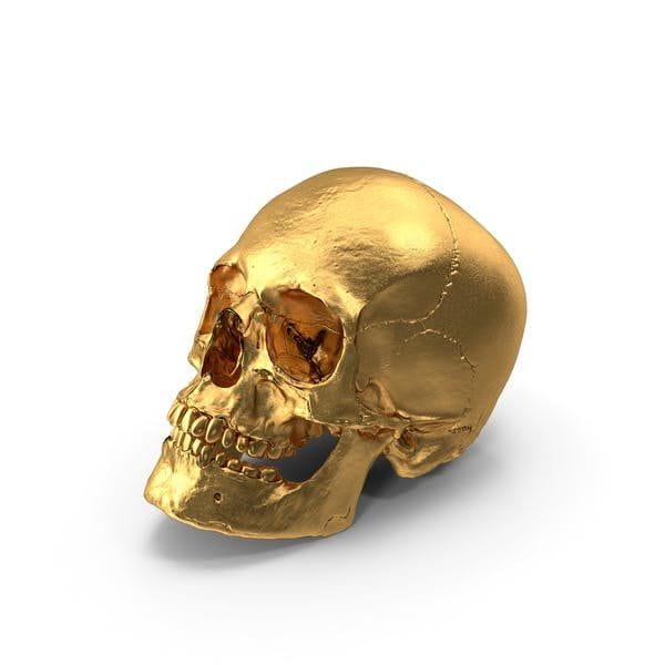 Gold Skull (Turbo Premium Space)