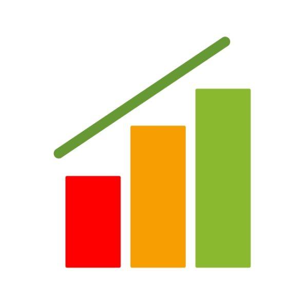 Graph Icon Creative Design Template