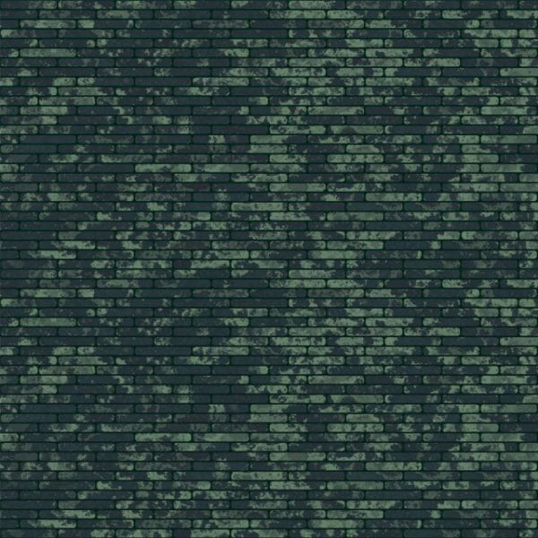 Green Dirty Brickwall Texture Background (Turbo Premium Space)