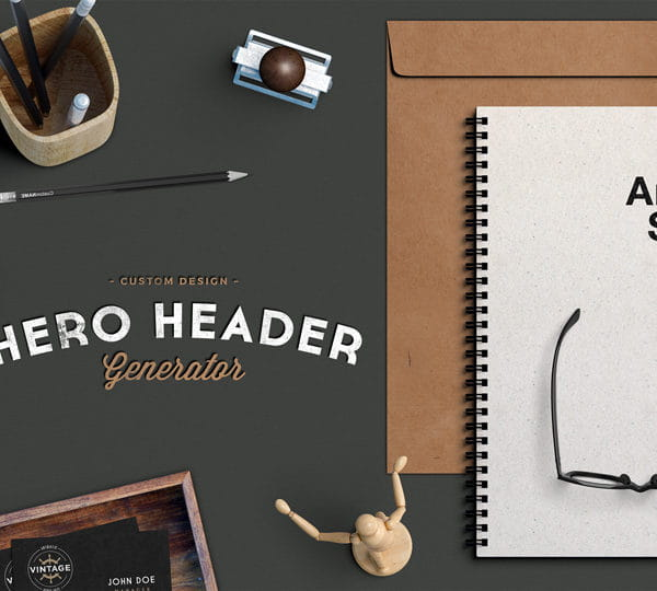 Hero Image PSD Mockup (Turbo Premium Space)