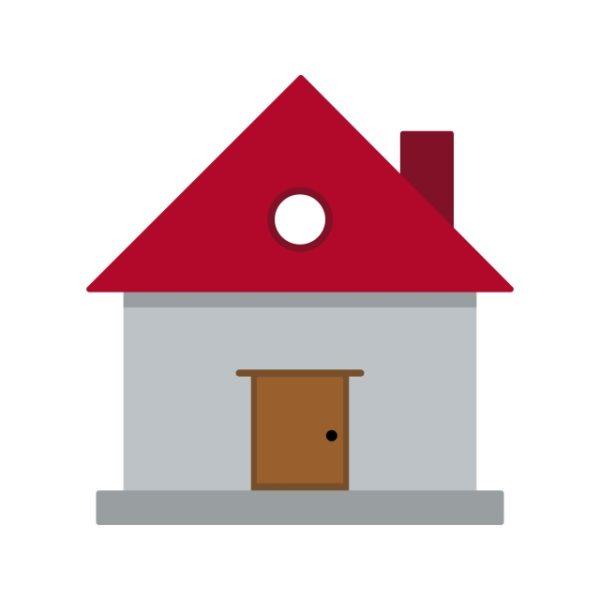 House Icon Creative Design Template