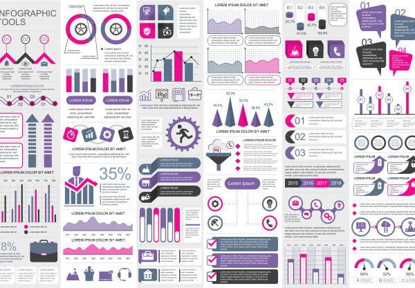 Infographic elements vector (Turbo Premium Space)