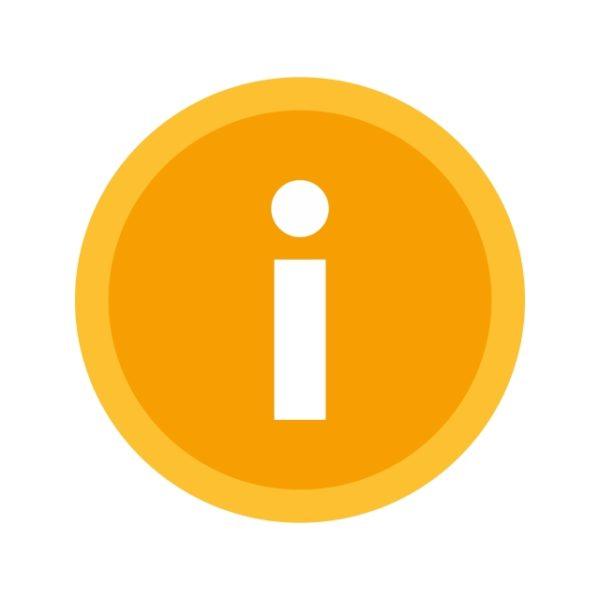 Information Icon Creative Design Template
