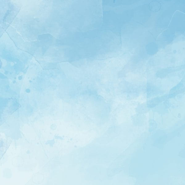 Ink Blue Sky White Clouds Hand Drawn Background Format