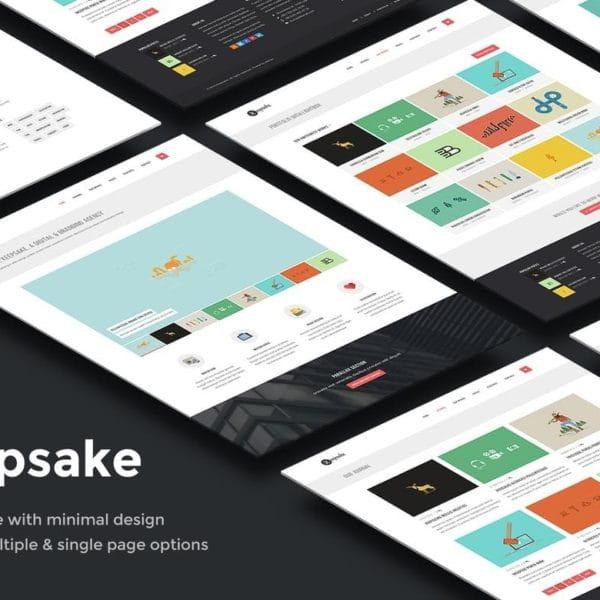 Keepsake - Multipurpose Single/Multi-page Template