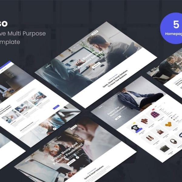 Kolaso - Modern Multi-Purpose HTML5 Template