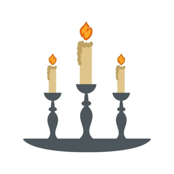 Lamp Icon Creative Design Template