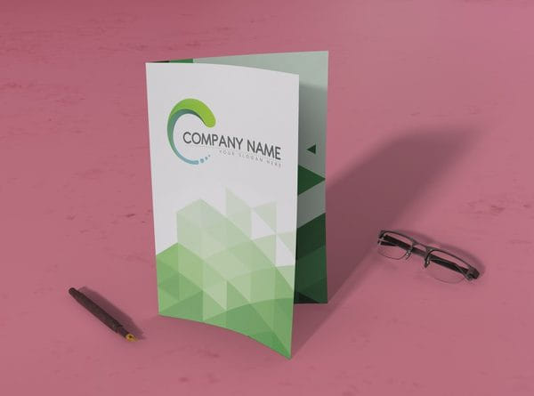 Leaflet folded with pen (Turbo Premium Space)
