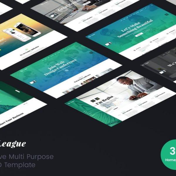 League – Multi-purpose Business HTML Template