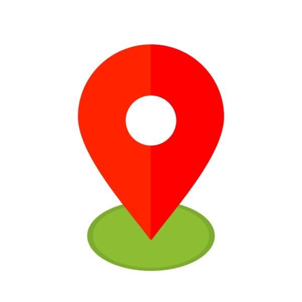 Location Icon Creative Design Template (Turbo Premium Space)