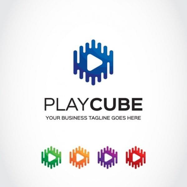 Logo template design (Turbo Premium Space)