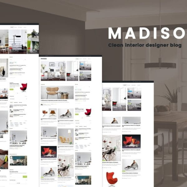 MADISON II - Clean Designers Blog Template