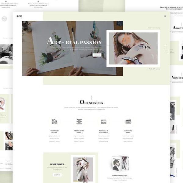 Mevo - Creative eCommerce HTML Template