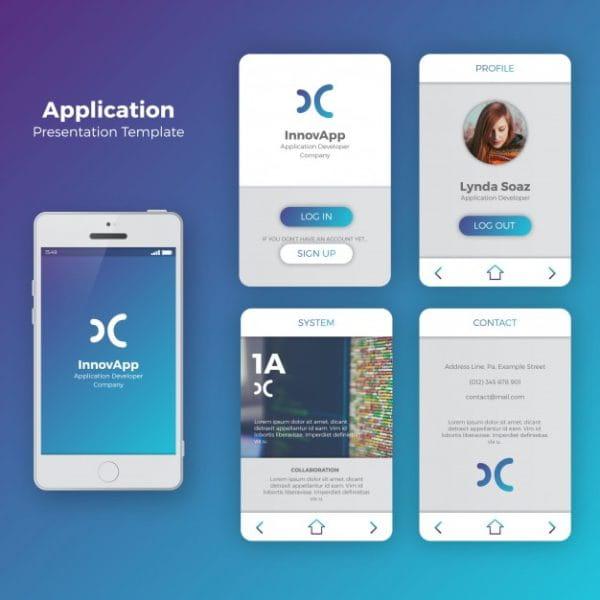 Mobile application interface (Turbo Premium Space)