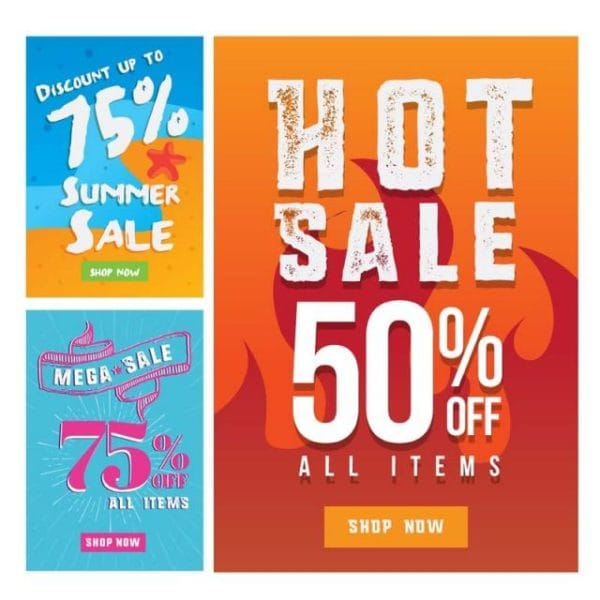 Modern Summer Sale Banner Set (Turbo Premium Space)