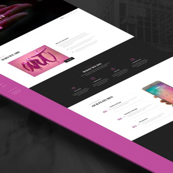 Musse - One Page Portfolio, Agency HTML Template