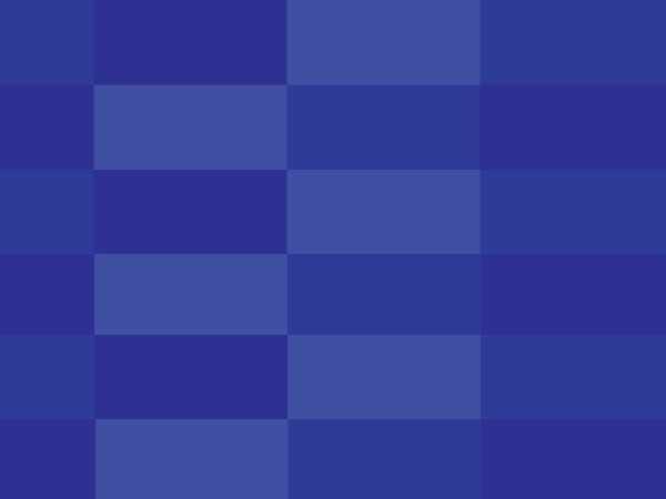 Pattern Square Blue And Dark Blue Color