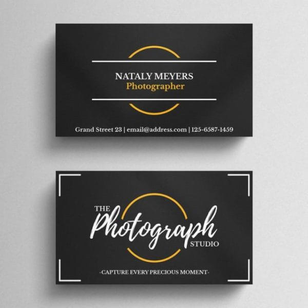 Photography Business Card (Turbo Premium Space)