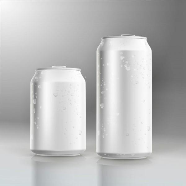 Photorealistic vector beer