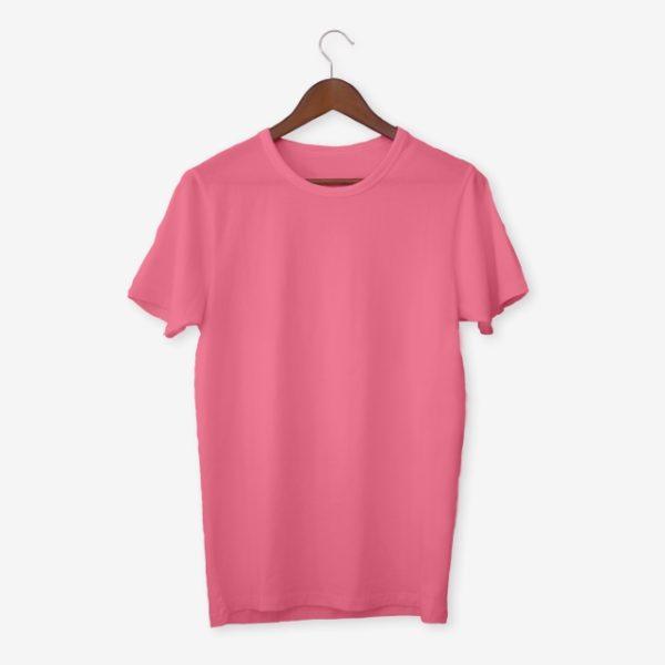 Pink T Shirt Mockup