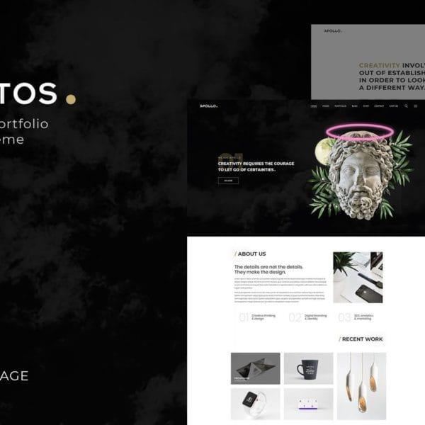 Plutos - Creative Portfolio & Blog Template