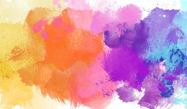 Pure Watercolor Gradient Colorful Background