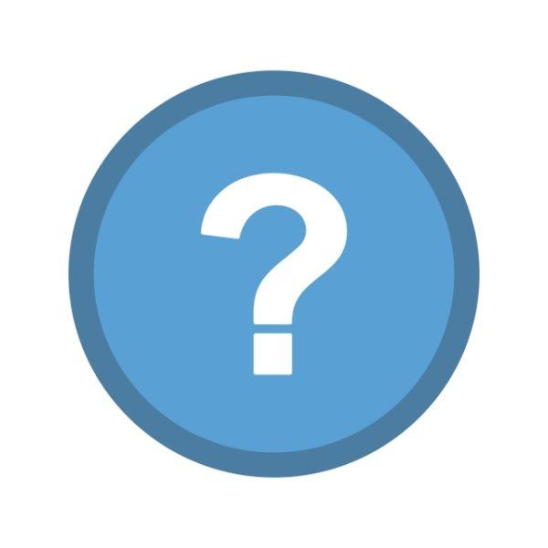 Question Icon Creative Design Template