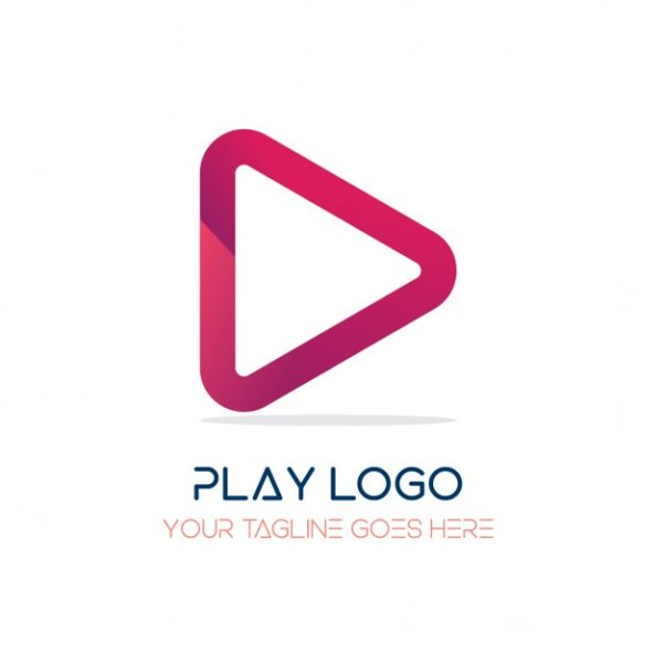 Red logo, play (Turbo Premium Space)
