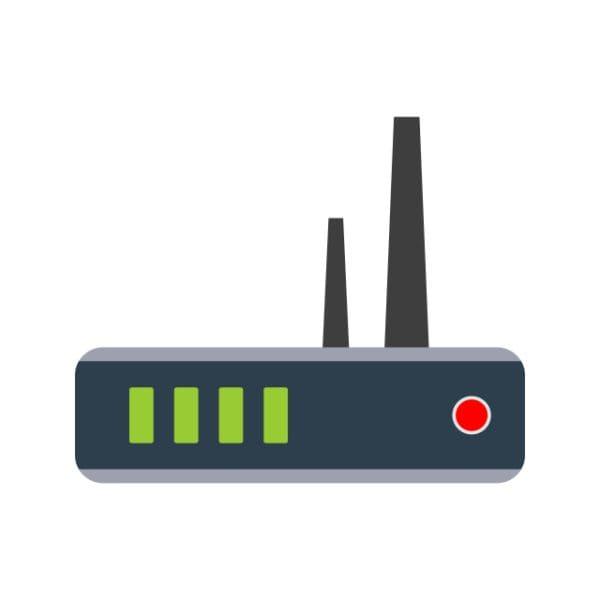 Router Icon Creative Design Template (Turbo Premium Space)