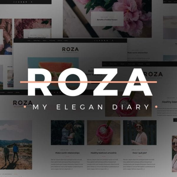 Roza - Clean Blog HTML Template