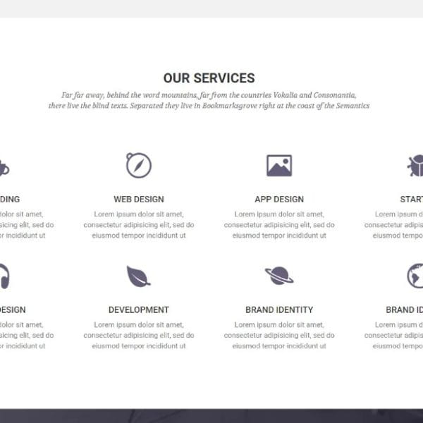 Airspace - Bootstrap Website Template