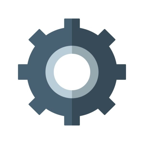 Setting Icon Creative Design Template (Turbo Premium Space)