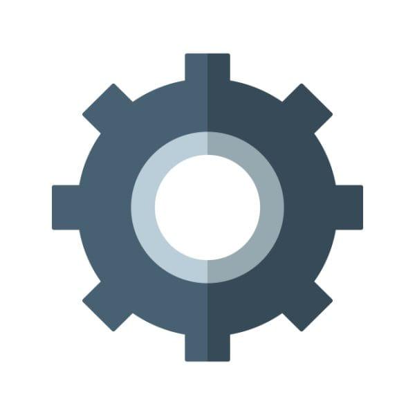 Setting Icon Creative Design Template