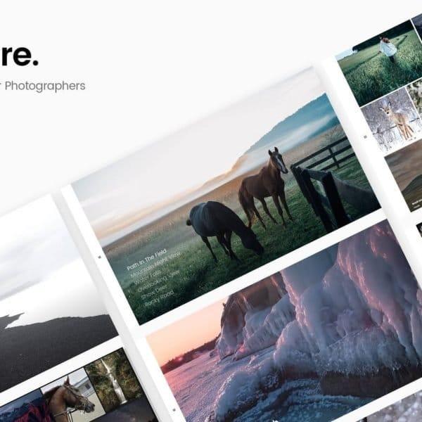 Sobre - Minimal Photography Portfolio HTML Template
